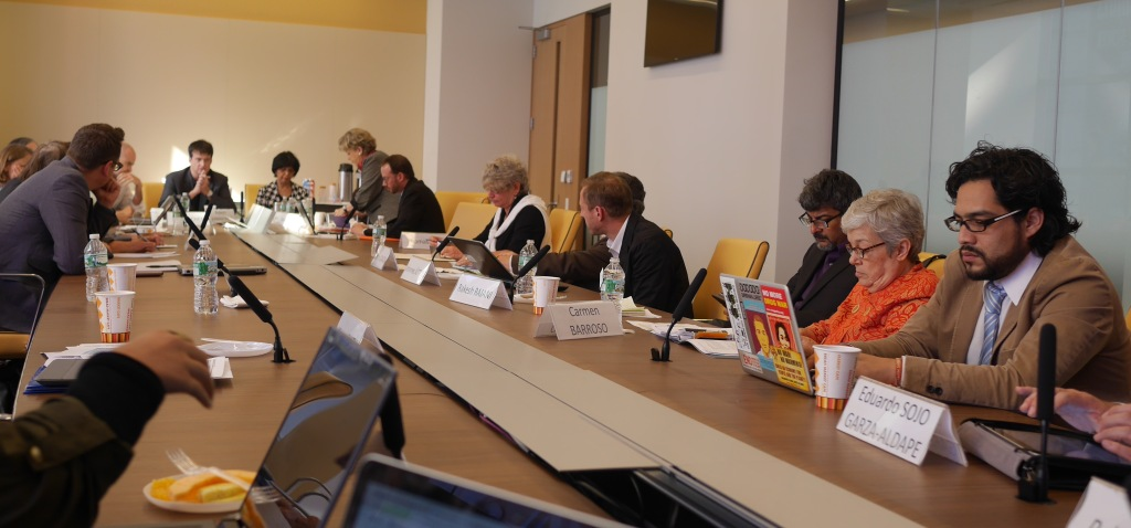 A gathering of civil society and expert group